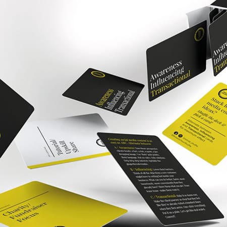 Social Shuffle social media prompt cards